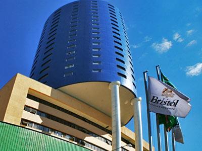 El hotel Bristol en Curitiba.