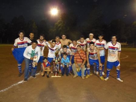 Mado Delicia se consagró campeón del torneo clausura el fin de semana pasado.