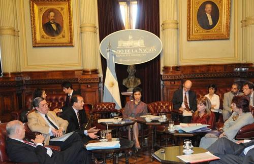 Exposición. Almada volvió a relatar el intento de censura en el Senado.