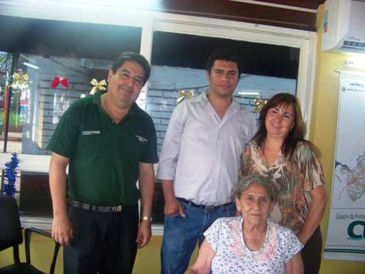 Alvez y fiscalizadores de turismo provincial.