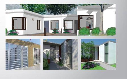 Los tres modelos de casas que ofrecerán