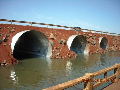 El nuevo viaducto será similar al del puente sobre el arroyo Garupá.