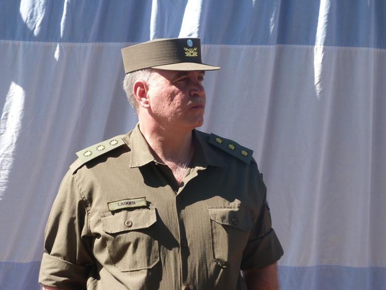 El comandante Lagger viene de desempeñarse en Jujuy.