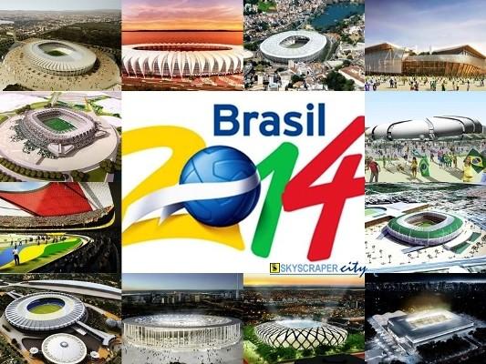 Las mejores selecciones de fúbol del mundo se disputarán la copa en Brasil 2014.