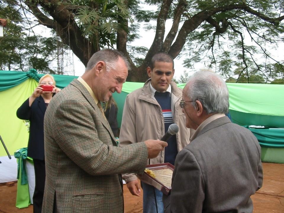 El ministro José Guccione participó en la celeración del Samic Iguazú.