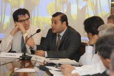El ministro de salud Oscar Herrera Ahuad