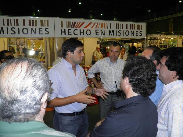 Empresarios del Chopp evaluaban comprar maní salado y mandioca frita producidos en Misiones.