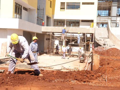 Construcción. Aseguran que el plan tendrá un fuerte impacto en el empleo.