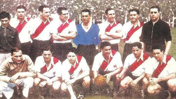 El equipo campeón en 1936.