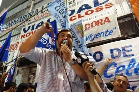 Hugo Irala, candidato a director titular por la rama activa del IPS.