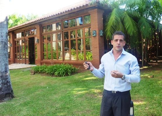 Juan Sebastián Comodo, gerente de alimentos y bebidas del Iguazú Grand