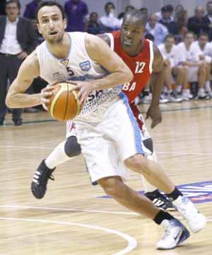 Emanuel Ginobili es la principal carta ganadora del seleccionado.