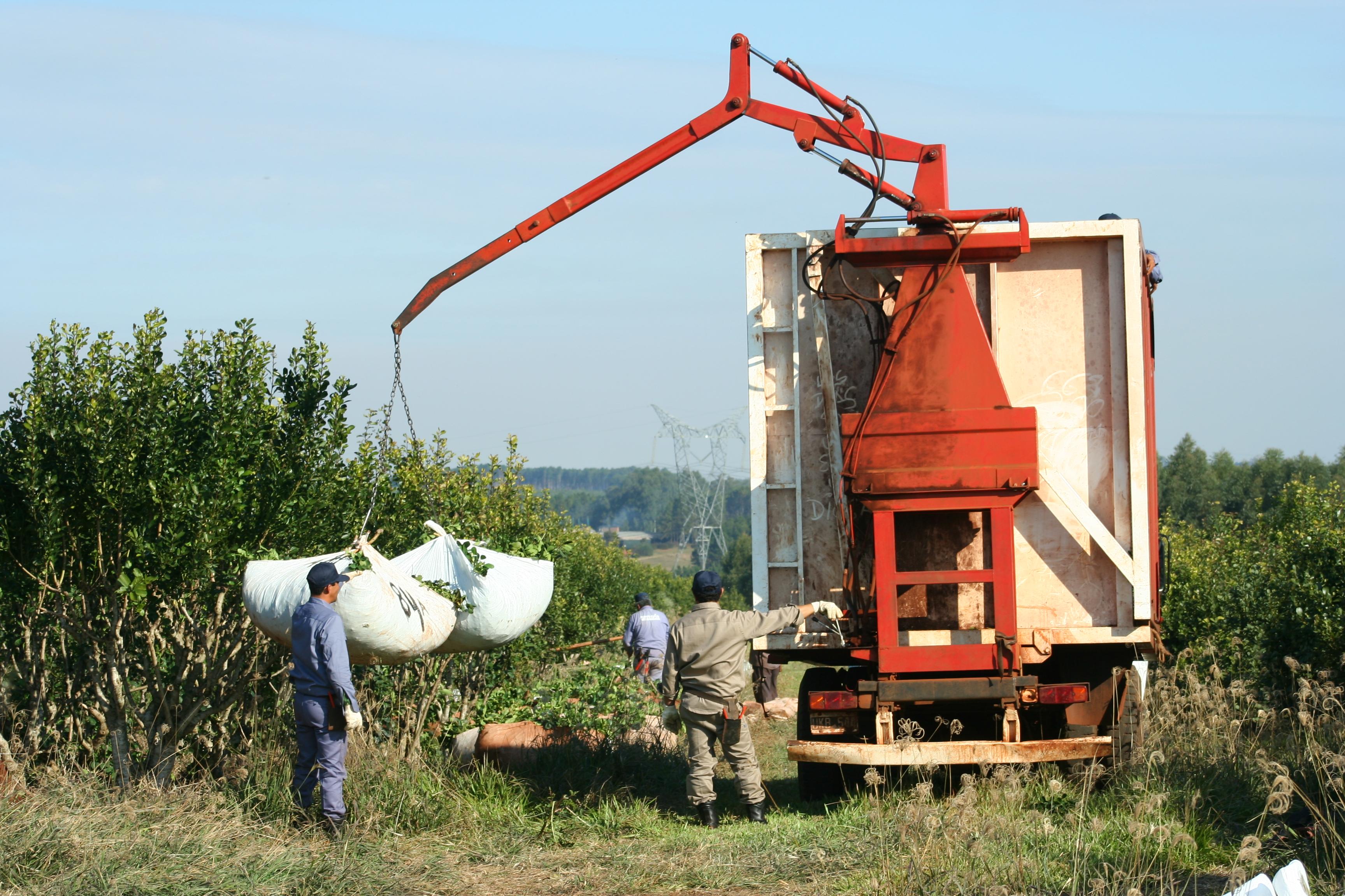 Guinches que entrega el INYM, destinados a optimizar la cosecha y humanizar el trabajo del cosechero, una de las herramientas que estarán en la Expo Dinámica 2013.