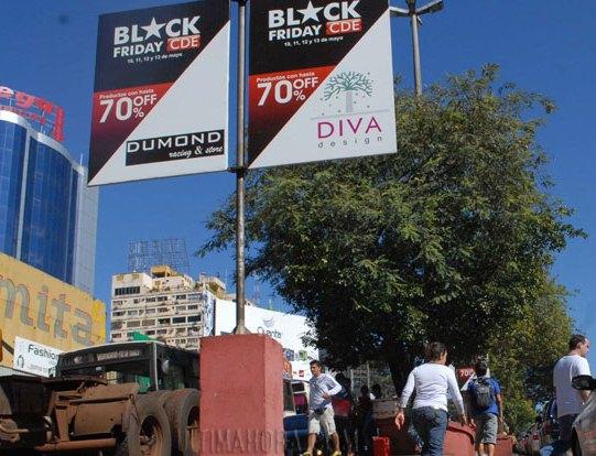 El Black Friday de Ciudad del Este, en mayo pasado.