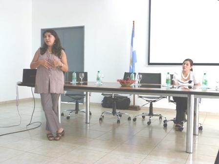 Marta Espinola, CEProDIT Facultad de Humanidades.