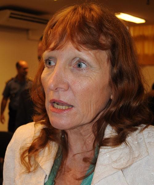 Margarita Potschka, jueza de Eldorado.