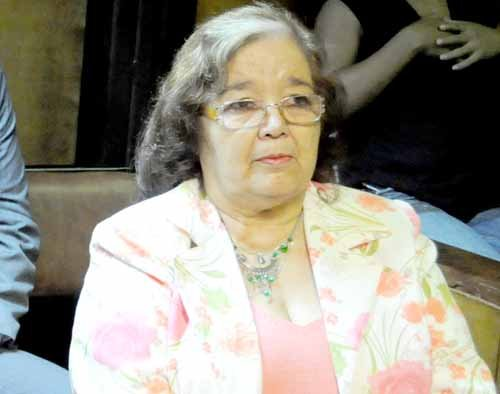 Ramona Velázquez. Fue elegida con el voto de todos los ministos del STJ.