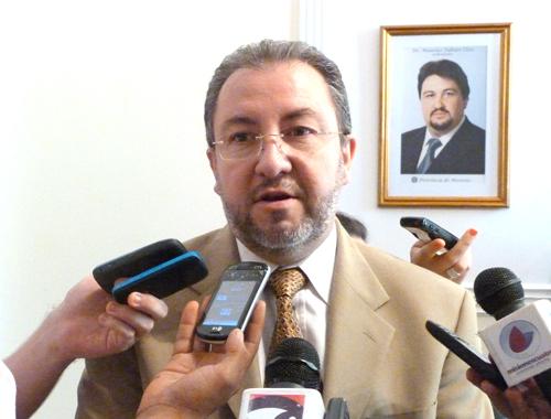 Proyecciones. Franco anticipó sus proyectos de trabajo para el 2012.