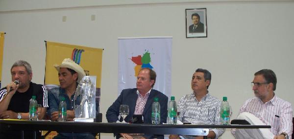 Daniel Valenzuela, Juan Palomino, Horacio Blodek, Julián Marín y Sergio Dobrusin.