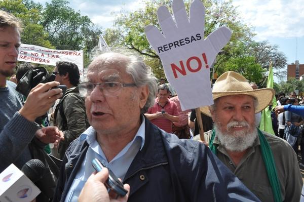 Premio Nobel de la Paz, Adolfo Pérez Esquivel en Posadas.