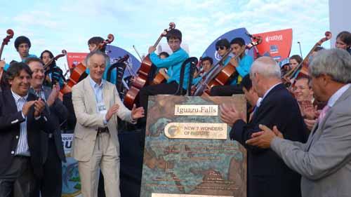 Maravillosas. Las Cataratas tendrán un reconocimiento en Buenos Aires.