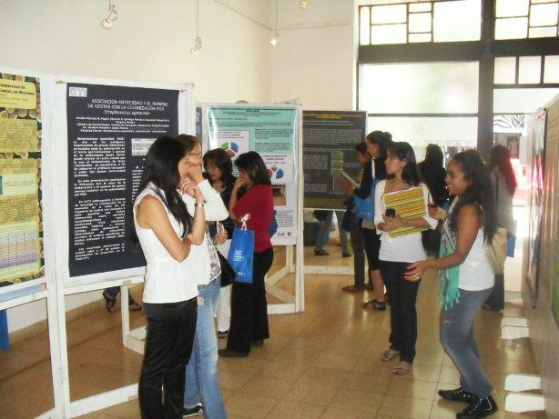 La exposición de Murales científicos se realiza en el museo Yaparí.