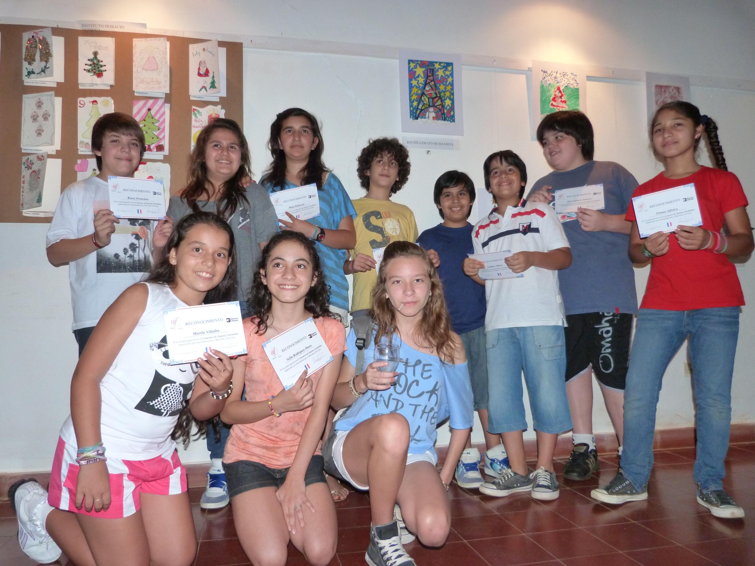 Los alumnos de distintos colegios de Posadas recibieron sus premios.