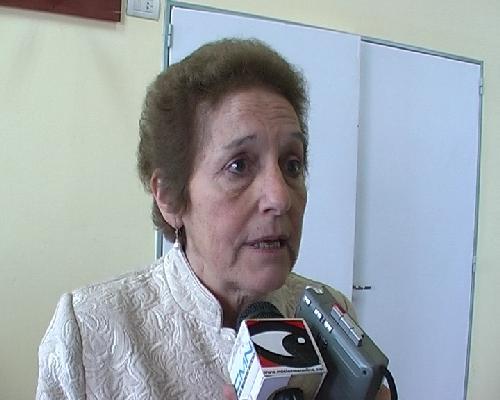 Elida Vigo destacó el financiamiento para la producción de huertas y aves de amas de casa de la chacra.
