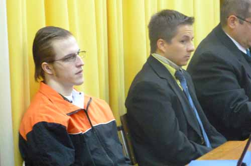 Acusados: Cristian Kondratiuk y Jorge Da Rosa. ( izquierda a derecha)