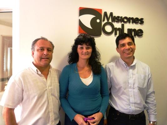 Andrés Montero, Kattia Allou y Darío Lugo, metafísicos de Posadas.