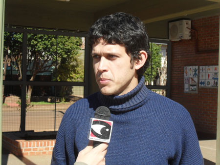 Samuel López, encargado del Hogar