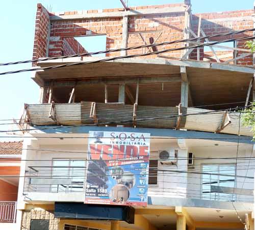 El edificio en construcción, donde murió Ramos,  sería propiedad de un ingeniero.