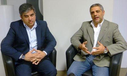 Rolando Muzzin y Gustavo Barutta.