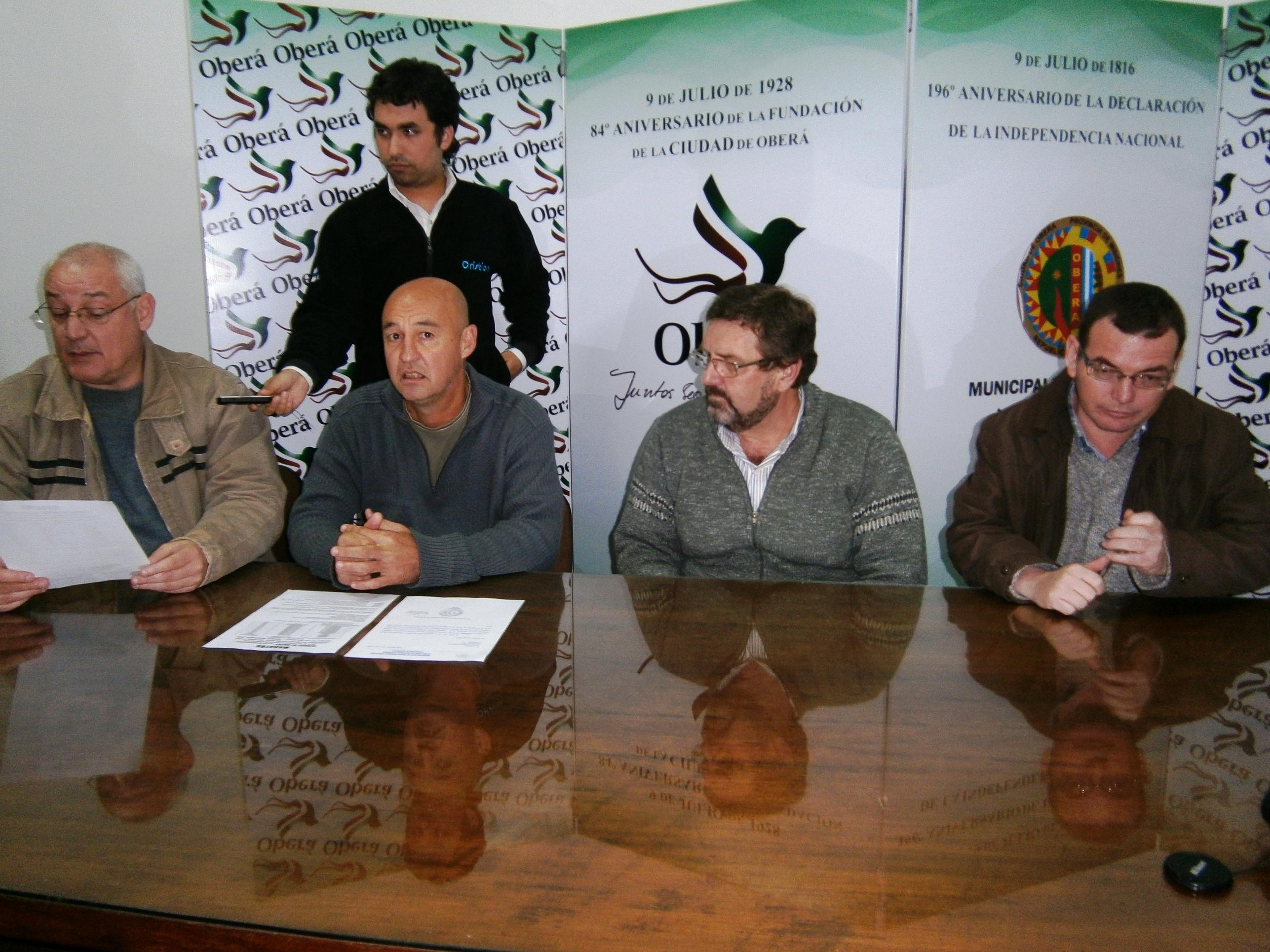 Lanzamiento de la maratón por el aniversario de Oberá.