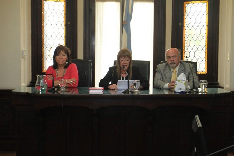 Los jueces del Tribunal Federal de Paraná. (foto gentileza Juan Ignacio Pereira del diario Uno)
