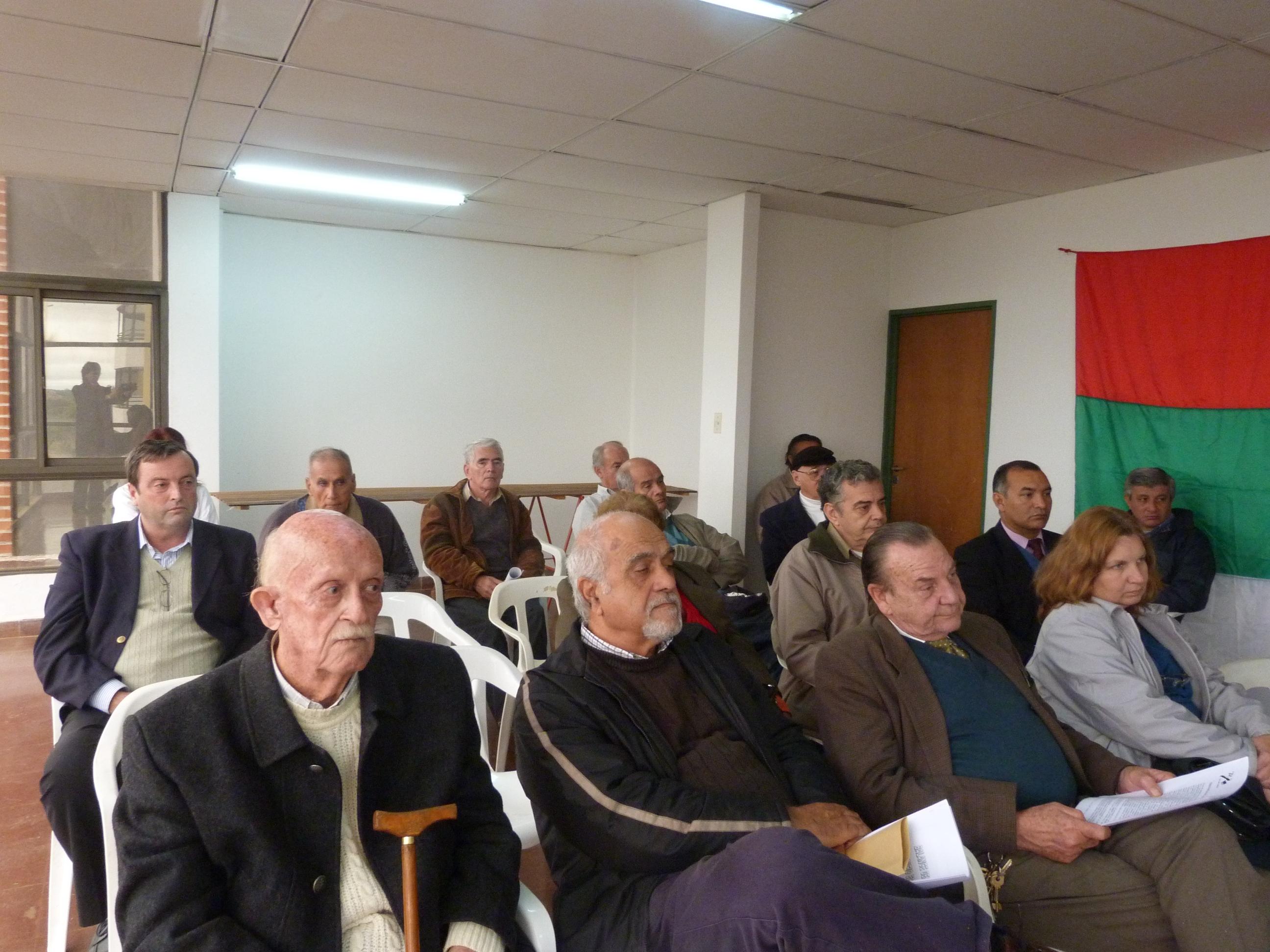 Los socios históricos realizaron el viernes la VII asamblea anual ordinaria.