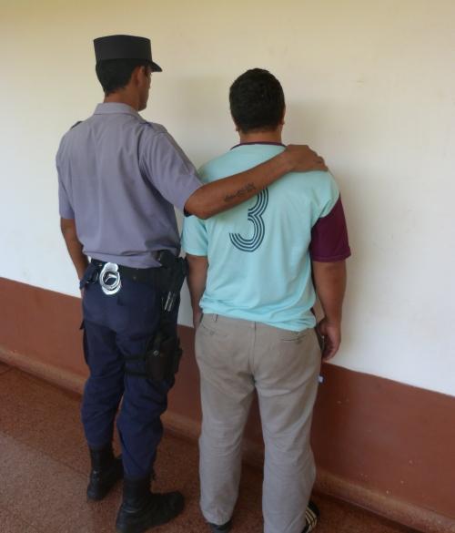 El fletero detenido por agredir a tiros a tres jóvenes.