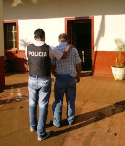 detenido por agresion a su pareja Villa Bonita