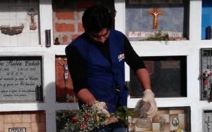 floreros cementerio