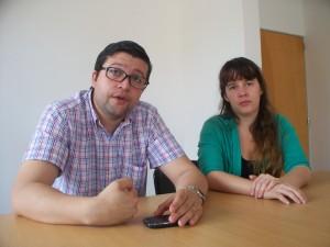Mario Giménez y Graciela de la Cruz.