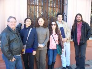 Trabajadores de la Cultura frente a Casa de Gobierno