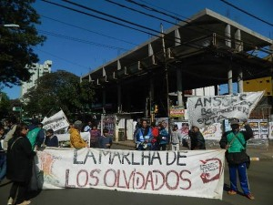 La Marcha de los olvidados está en Posadas.