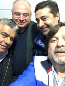 """Miguel Fayterna, vicepresidente de Crucero: """"Es una gran alegría, vamos a tratar de darle un giro para mejor a la AFA"""""""