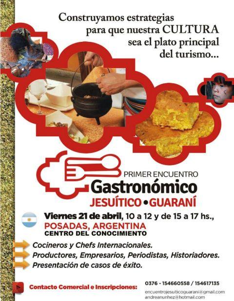 Gran expectativa por el primer Encuentro Gastronómico Jesuítico – Guaraní uniendo la región