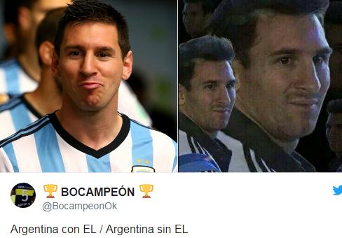Luego de la derrota de Argentina ante Nigeria las redes estallaron con memes