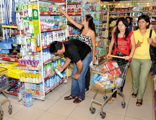 Las ventas en los supermercados crecieron 17,9% durante septiembre
