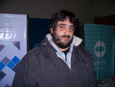 Adrián Rojo, de Agricultura Familiar de la Nación en Misiones.
