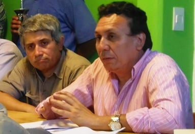 Ricardo Maciel y Benjamín Larroza.