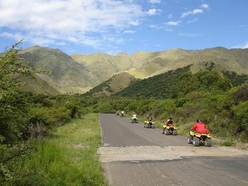 Parte del Valle del Conlara en San Luis, donde vieron surcar un bólido en el Cielo.