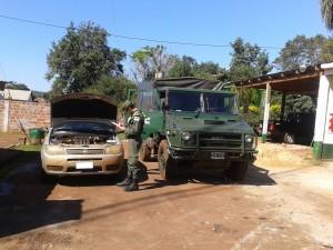 Gendarmería secuestró dos vehículos robados en Buenos Aires y un camión con madera nativa